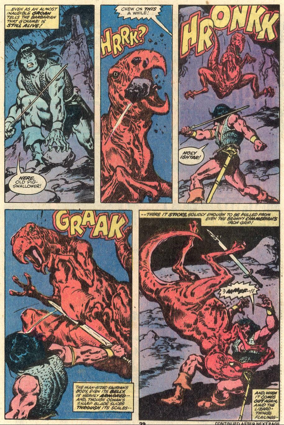 Conan the Barbarian (1970) Issue #95 #107 - English 14