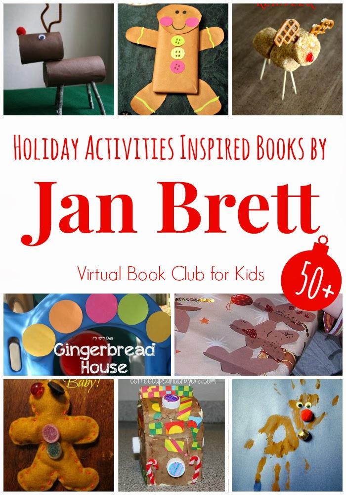 JAN BRETT lot 12 Picture Books Noah's Ark Trouble with Trolls Gingerbread Baby