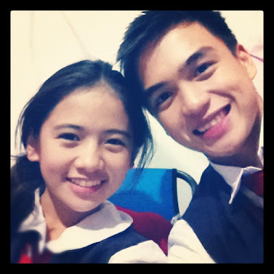 Dom Roque (Hubert) and Ella Cruz (Aryana)