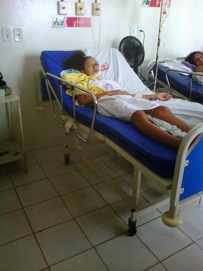Irislane de 18 anos que se chocou em mureta sobrevive mas só poderá fazer cirurgia em maio por falta de médico no HGM!!!