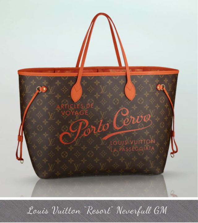 Louis Vuitton Resort Neverfull GM Porto Cervo