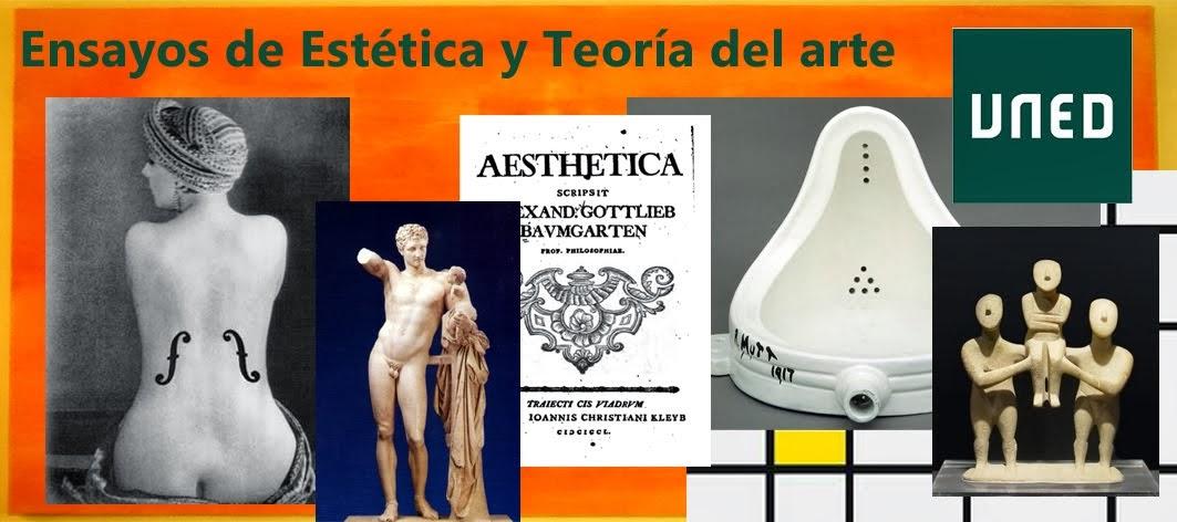Ensayos de Estética y Teoría del arte