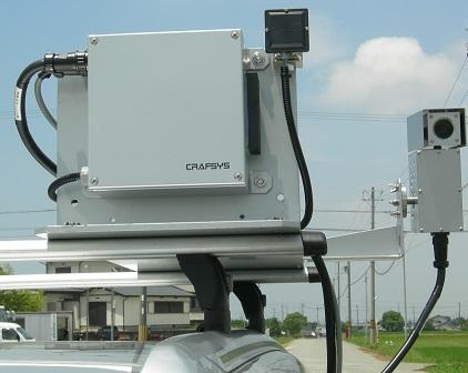 監視カメラ: 防災減災対策 監視カメラ 車載、クレーン用などで運用され... 監視カメラ