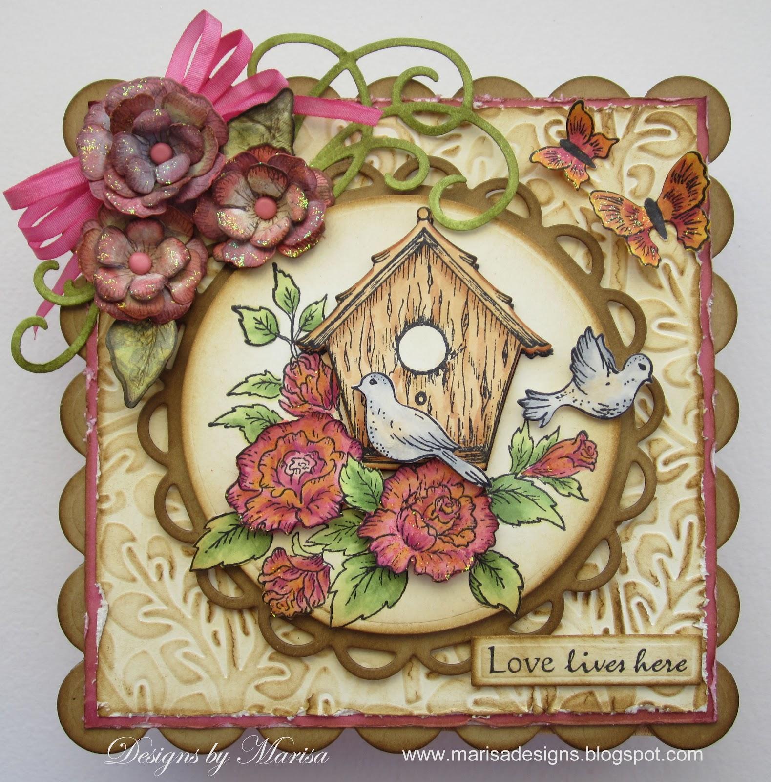heartfelt creations how to make a flower pot cdard