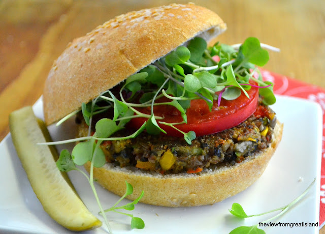 The Ultimate Veggie Burger recipe