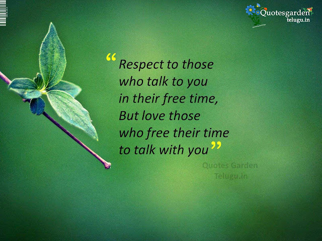 Quotes about respect love relationship in real life