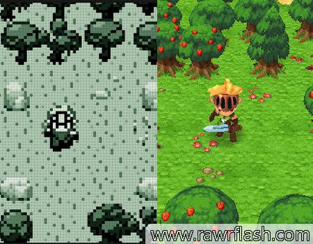 Jogos de aventura, rpg, luta, pixel, 3D: Evoland