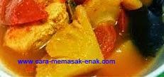resep praktis dan mudah membuat (membikin) manisan buah nanas spesial enak, lezat
