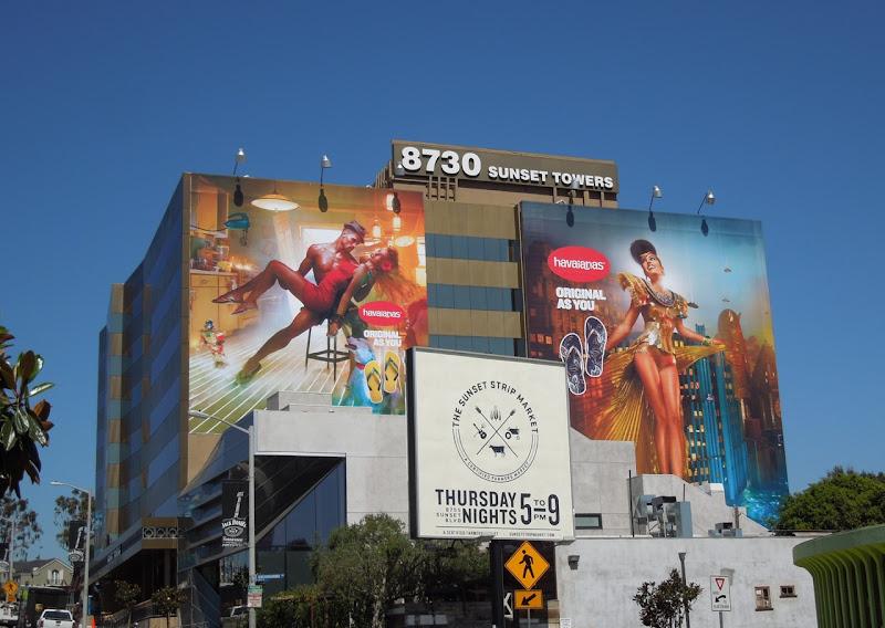Havaianas flipflop Original as you billboards