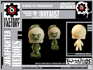 "Flytrap Factory ""Warfighter Heroes"" Boofheads+2"