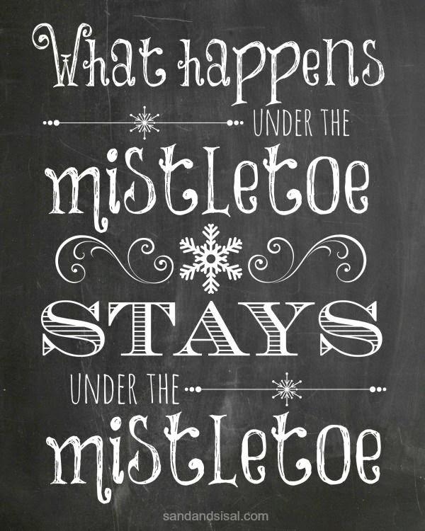 http://sandandsisal.com/2013/12/mistletoe-chalkboard-printable.html