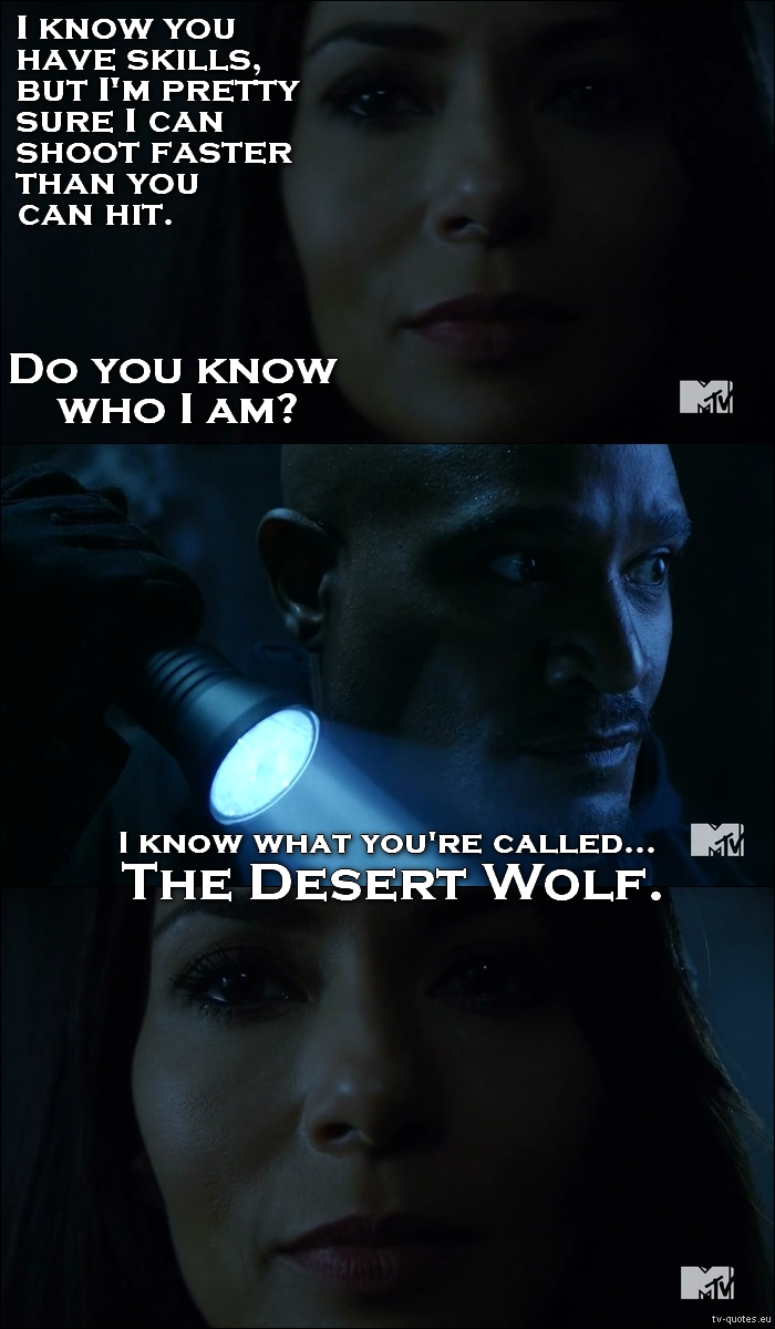 Teen wolf memorable quotes