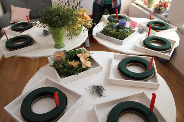 DIY Blumenkranz Glade Event