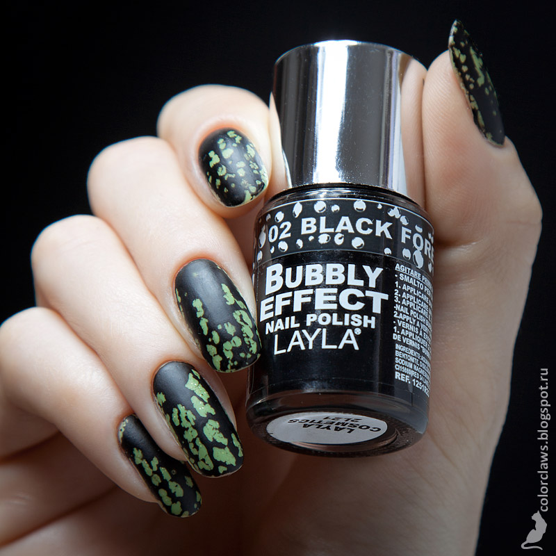 Layla Bubbly Effect #02 Black Forest