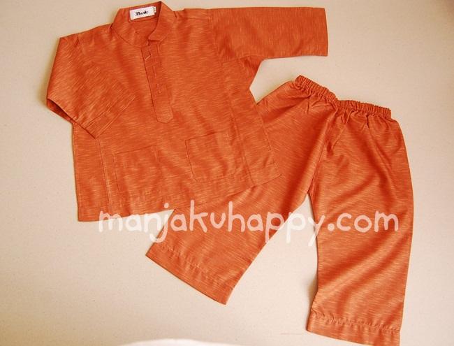 Baju Melayu Cekak Musang Kanak-kanak 1 tahun hingga 6 tahun (Code: BMC