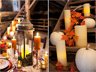 autumn theme wedding
