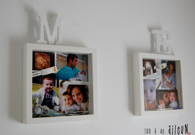 blogersando fotos ikea ribba recuerdos portafotos aileon
