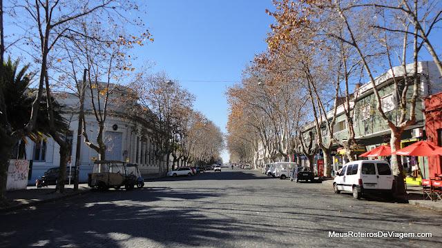 Av. Gral Flores - Colonia del Sacramento, Uruguai