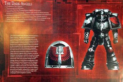 La Legíon de Dark Angels durante la Herejía de Horus
