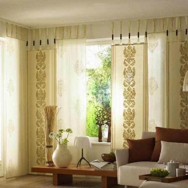 Japanese curtains design