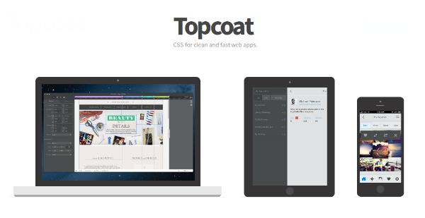 TopCoat UI framework