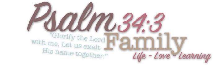 Psalm 34:3 Family