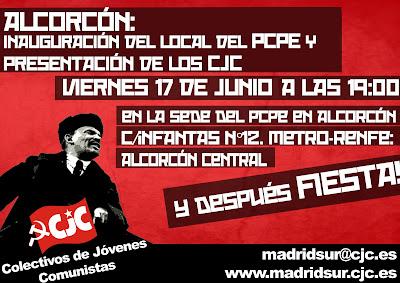 Presentación de los CJC en Alcorcón MADRID%2BSUR