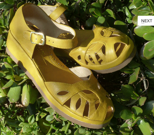 Flashback Summer:  Let's Talk Flats- 1940s, 1950s vintage flat shoes, Remix