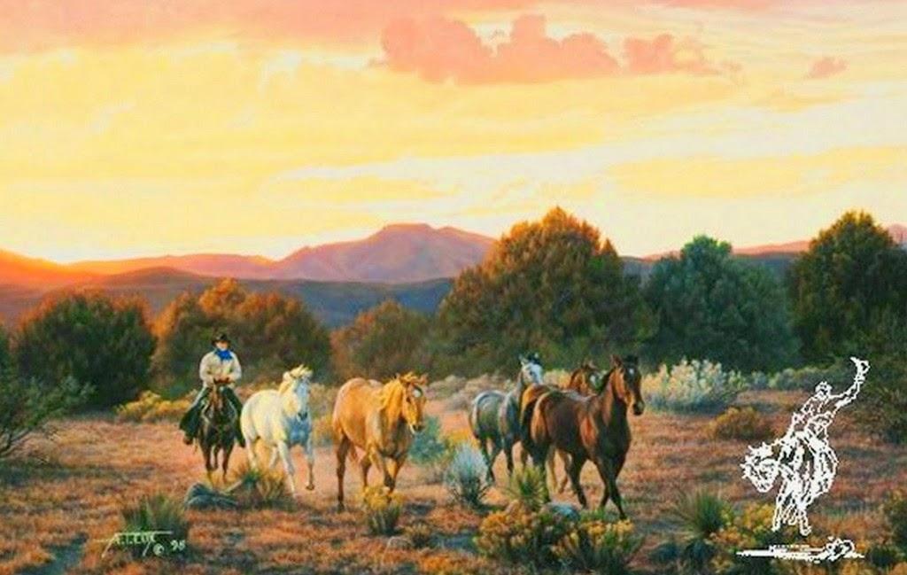 pinturas-de-caballos-en-paisajes
