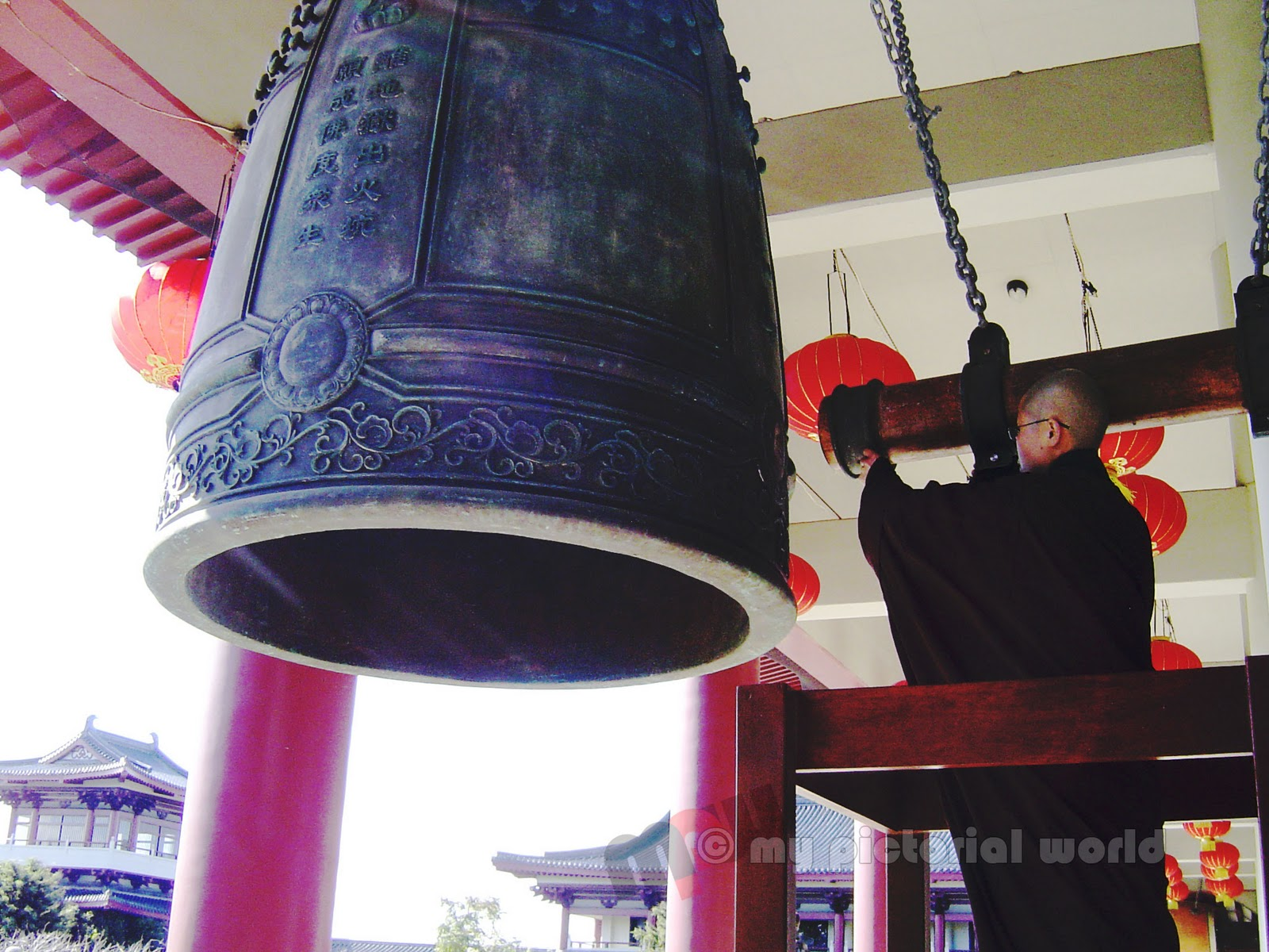 Bell at Fo Guang Shan Buddhist Temple