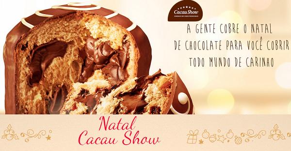 Melhores opções de presentes Cacau Show natal 2014