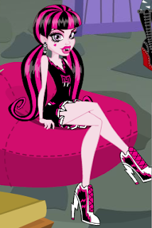 Monster High, Draculaura, part 4