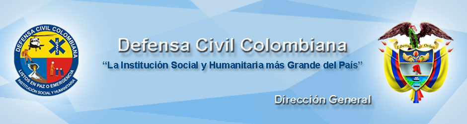 DEFENSA CIVIL COLOMBIANA                  Dirección General