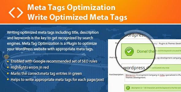 Cara Pasang Meta Tag Terbaik Wordpress