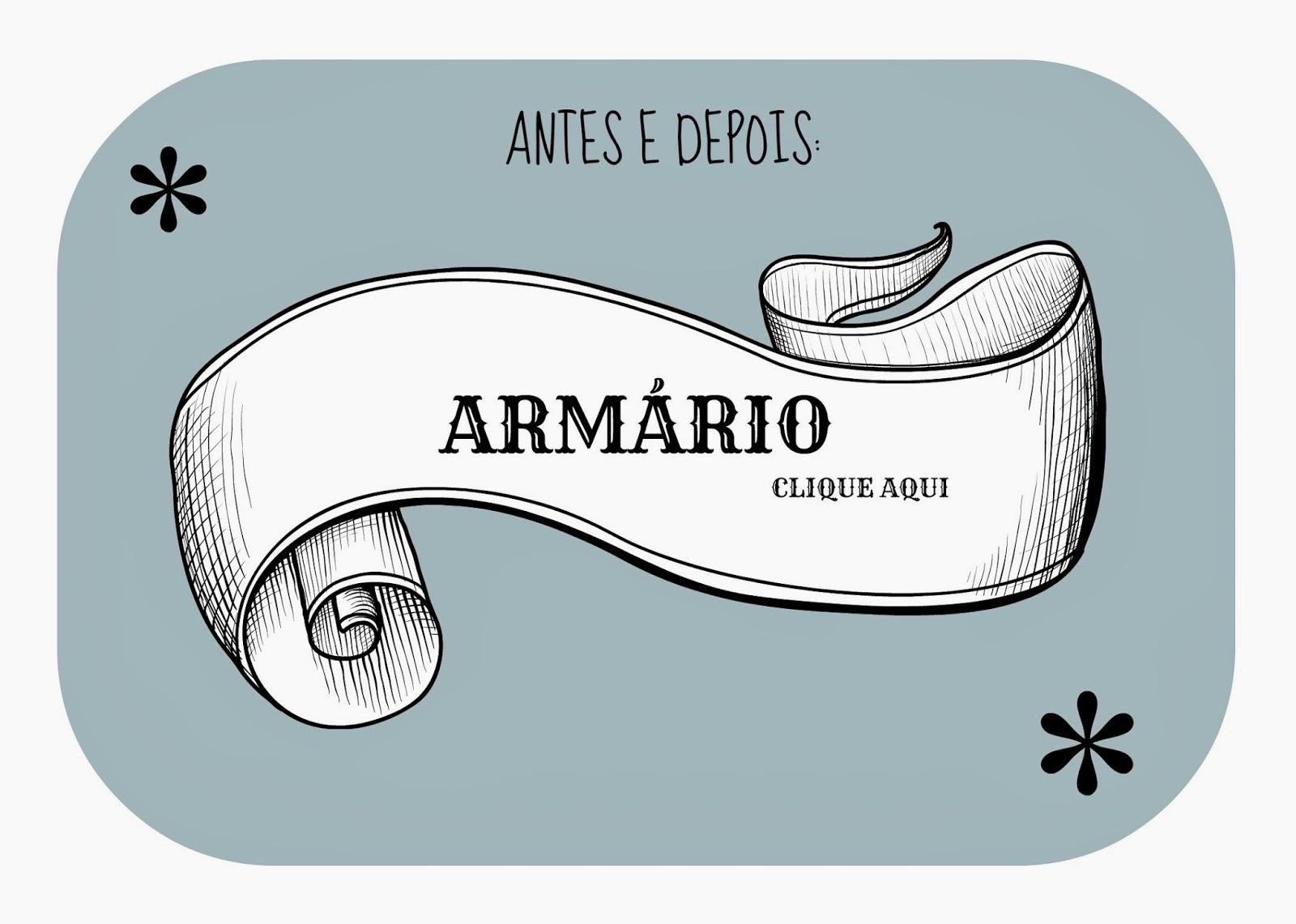 ARMÁRIO COM PAPEL DE PRESENTE
