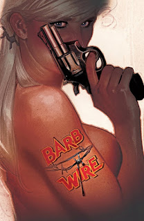 Cover of Barb Wire #3 by Adam Hughes from Dark Horse