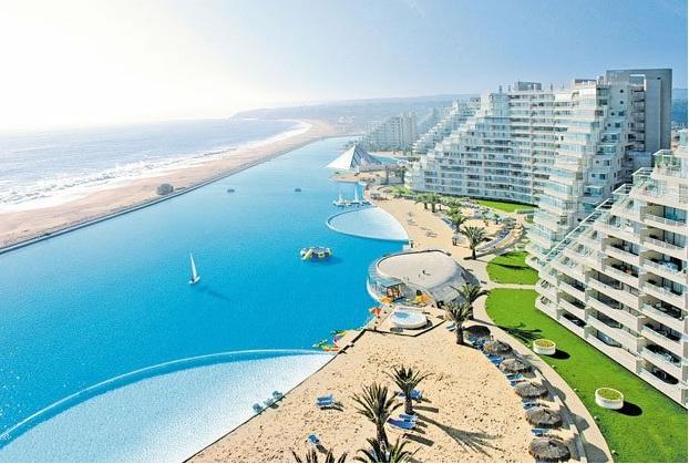 Dubai Base World Largest Outdoor Pool