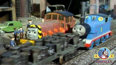 Sodor Island fish shipping sea port-yard Thomas & friends Salty the tank engine Thomas to the rescue