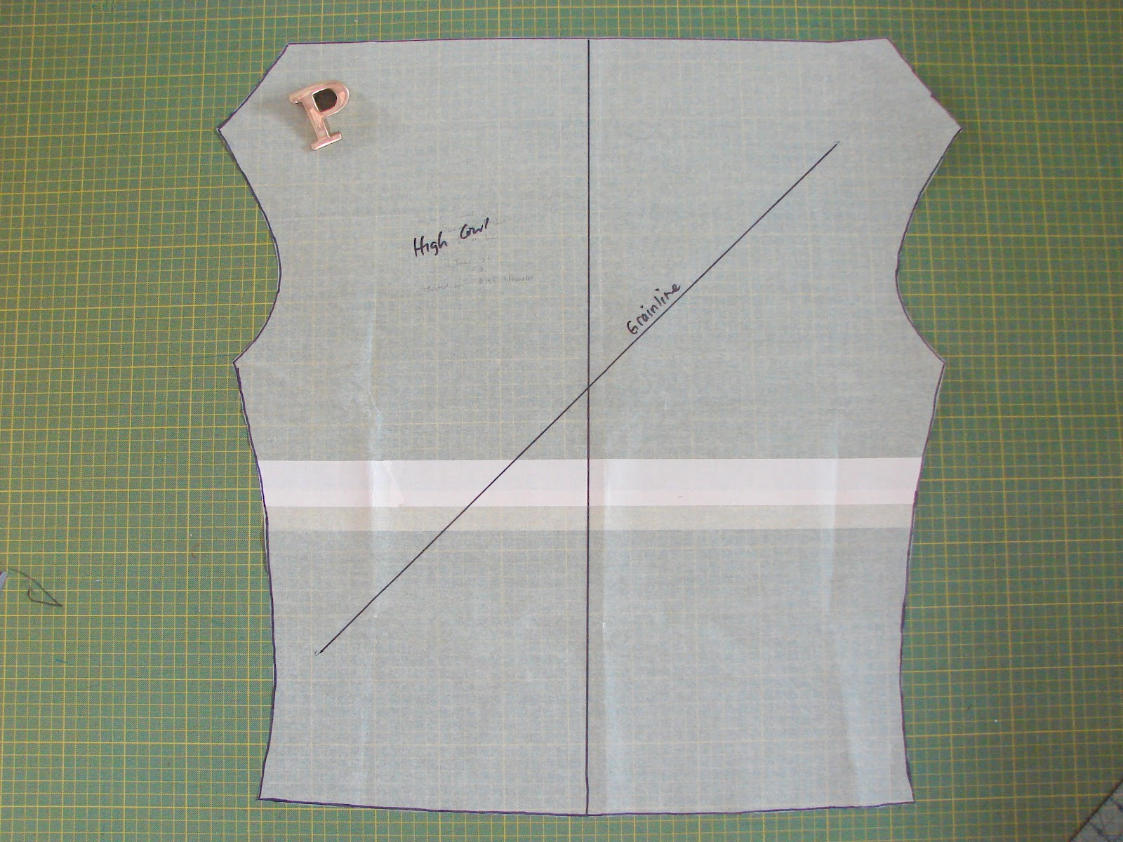 Free Sewing Tutorial Draft A Deep Cowl Neck Top