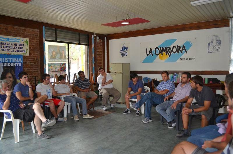 Plenario general de La Cámpora en la sexta sección electoral