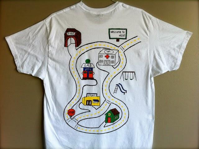 1b2aea6e83 Ideia De Presente Para O Dia Dos Pais Camiseta Pista De Carros