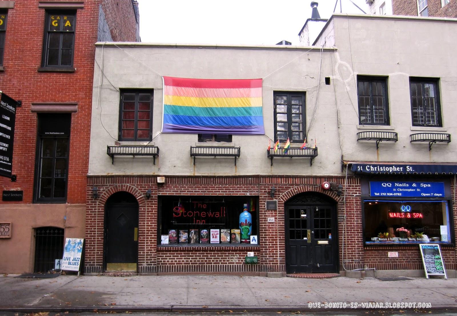 Stonewall Inn, el origen del Día del Orgullo Gay