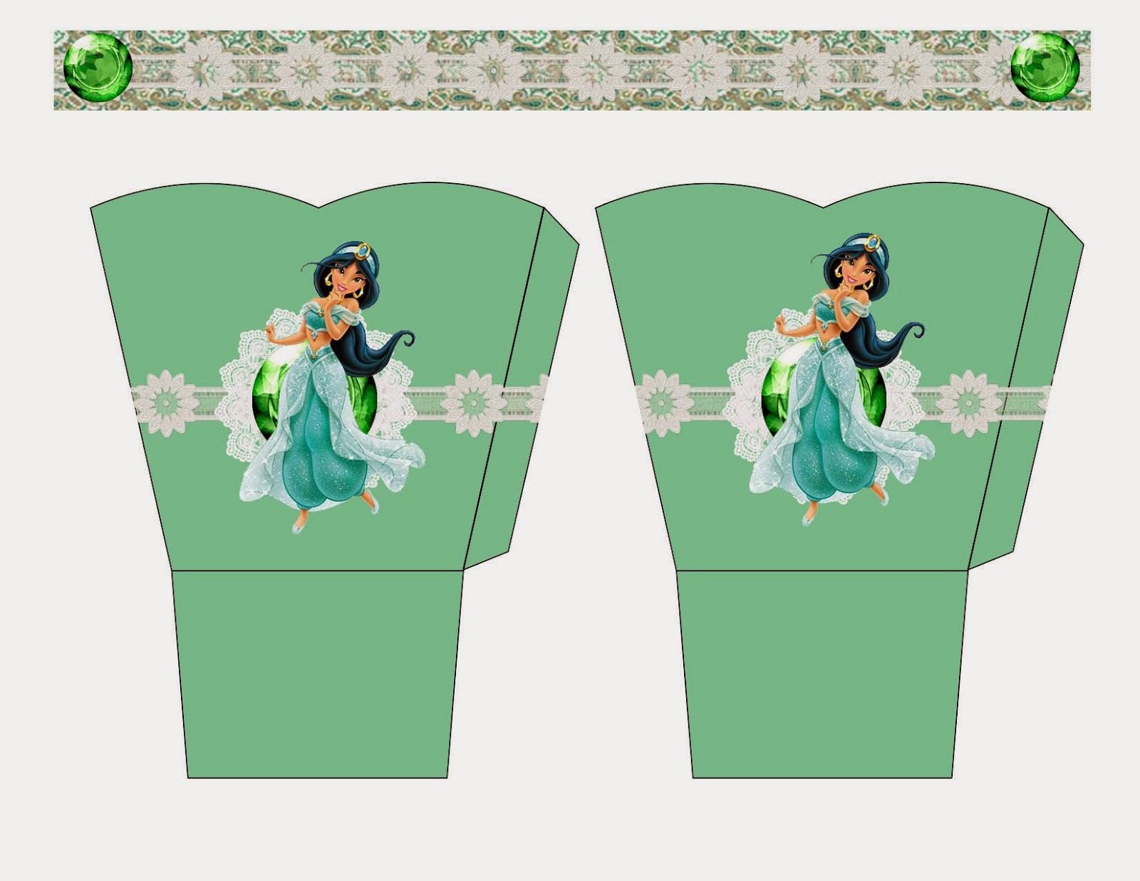 Jasmine: Cesta para Imprimir Gratis.