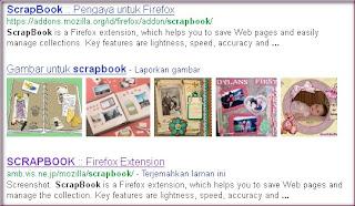 Fungsi scrapbook  add ons mozilla firefox