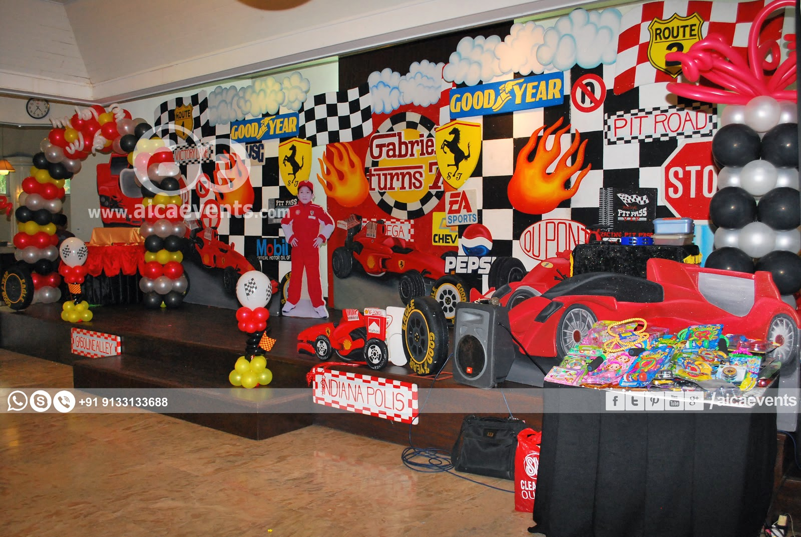 aicaevents: Car Themed Birthday party