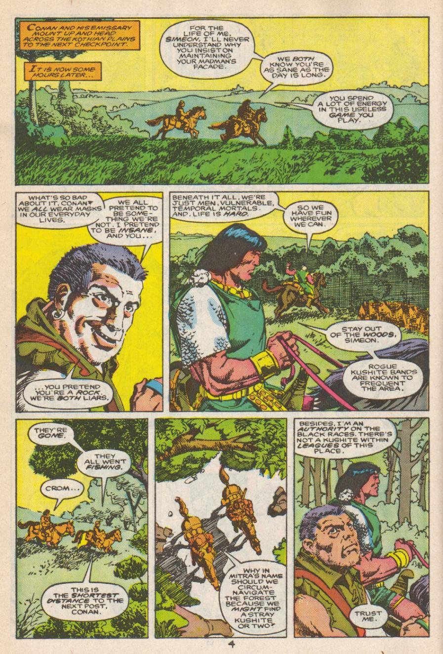 Conan the Barbarian (1970) Issue #192 #204 - English 5