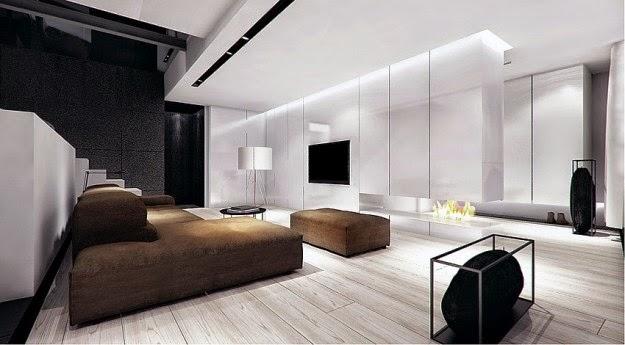 Sala Tv Minimalista ~ 10 Diseños de salas minimalistas