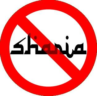 NO SHARIA IN AMERICA