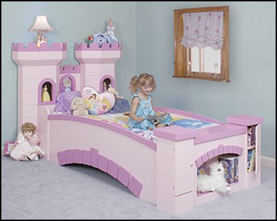 Castle bridge bed for Castle bed plans