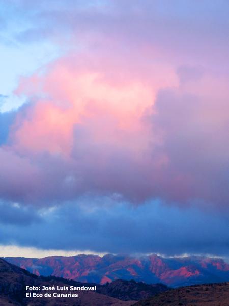 fotos y vídeo amanecer en Las palmas de Gran Canaria